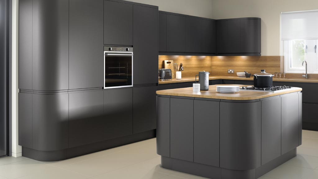 Handleless Kitchens Warrington Matt Handleless Kitchens Painted Grey