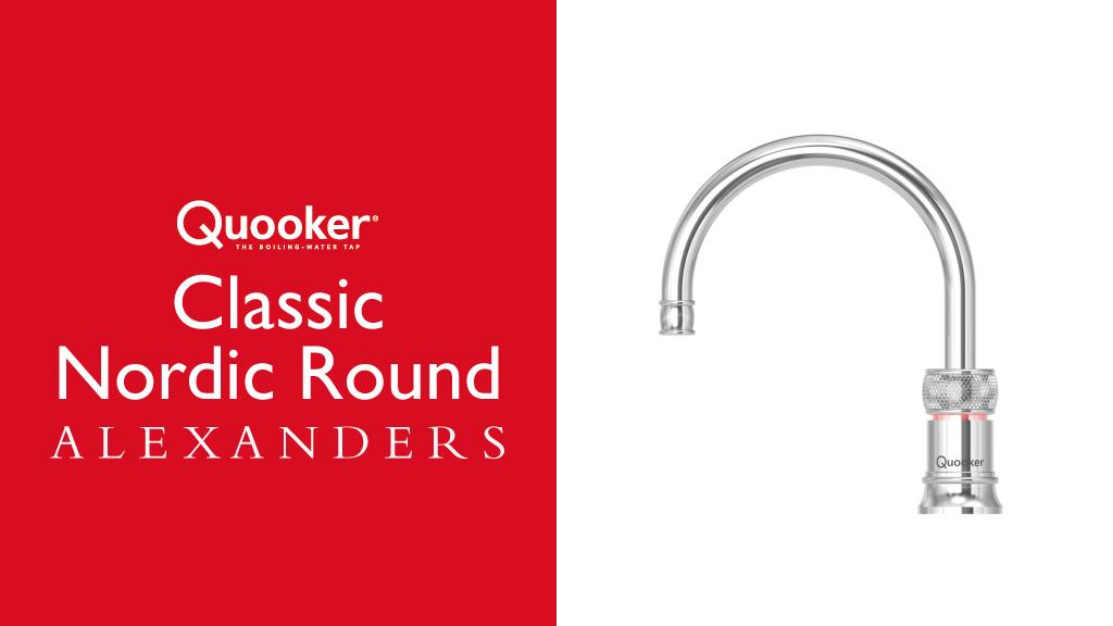 Quooker-Taps-Warrington-Alexanders-Kitchens-Warrington-Quooker-Classic-Nordic Round-Tap-Warrington-Cheshire