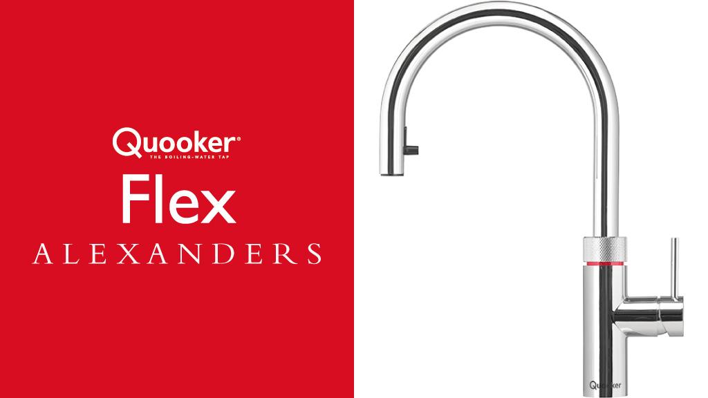Quooker Taps Warrington - Alexanders Kitchens Warrington - Quooker Flex Tap Warrington Cheshire