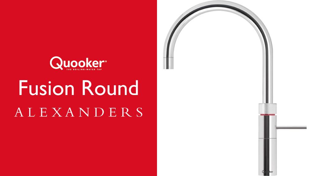 Quooker Taps Warrington - Alexanders Kitchens Warrington - Quooker Fusion Round Tap Warrington Cheshire