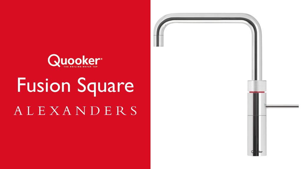 Quooker Taps Warrington Alexanders Kitchens Warrington Quooker Fusion Square Tap Warrington Cheshire