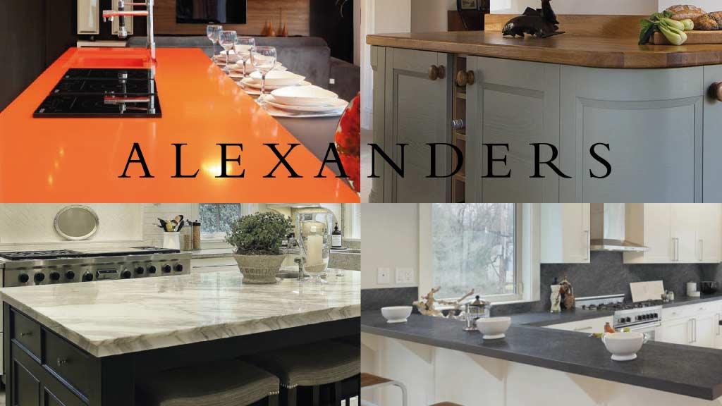 Kitchen Worktops Llanrwst - Kitchens Llanrwst - Alexanders Kitchens Llanrwst