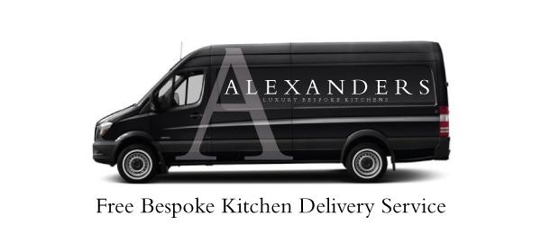 Kitchens Llanrwst - Alexanders Kitchens Llanrwst Delivery Van